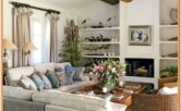 Colonial Home Living Room Ideas