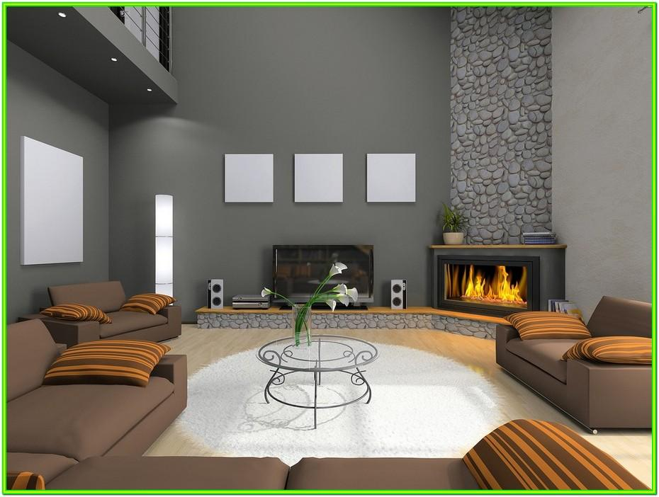 Corner Fireplace Living Room Ideas