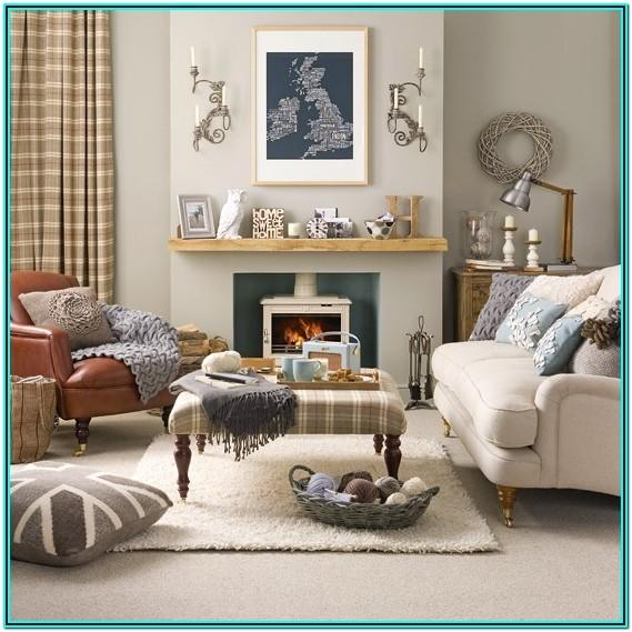 Cosy Grey Living Room Ideas Uk
