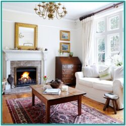 Cosy Living Room Ideas White 1