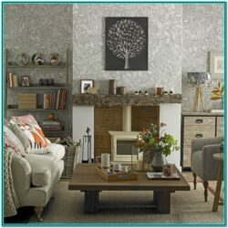 Cosy Living Room Wallpaper Ideas 1