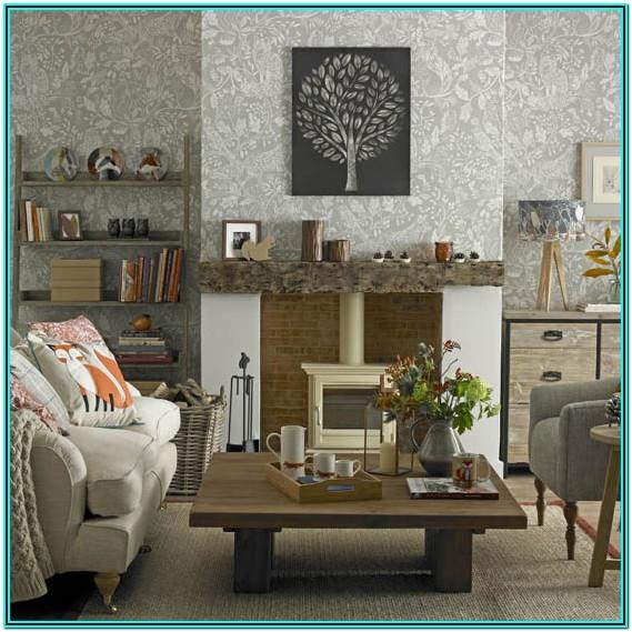 Cosy Living Room Wallpaper Ideas