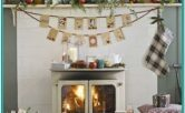 Country Christmas Living Room Ideas