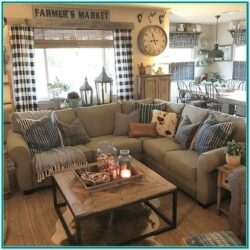 Country Farmhouse Living Room Ideas