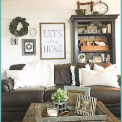 Country Farmhouse Small Living Room Ideas