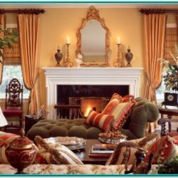 Country French Living Room Ideas