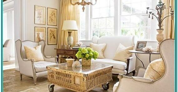 Country Living Room Beed Board Ideas