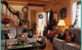Country Primitive Living Room Ideas