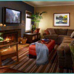 Cozy Warm Living Room Decorating Ideas