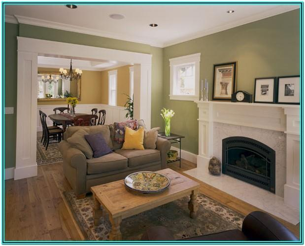 Craftsman Style Living Room Design Ideas
