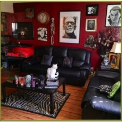 Creepy Living Room Ideas