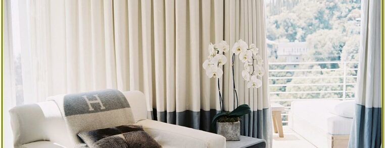 Curtain Ideas For Contemporary Living Room