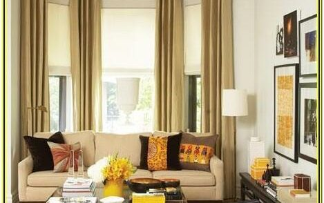 Curtain Ideas For Long Living Room Window