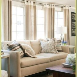 Curtain Ideas Living Room Three Windows