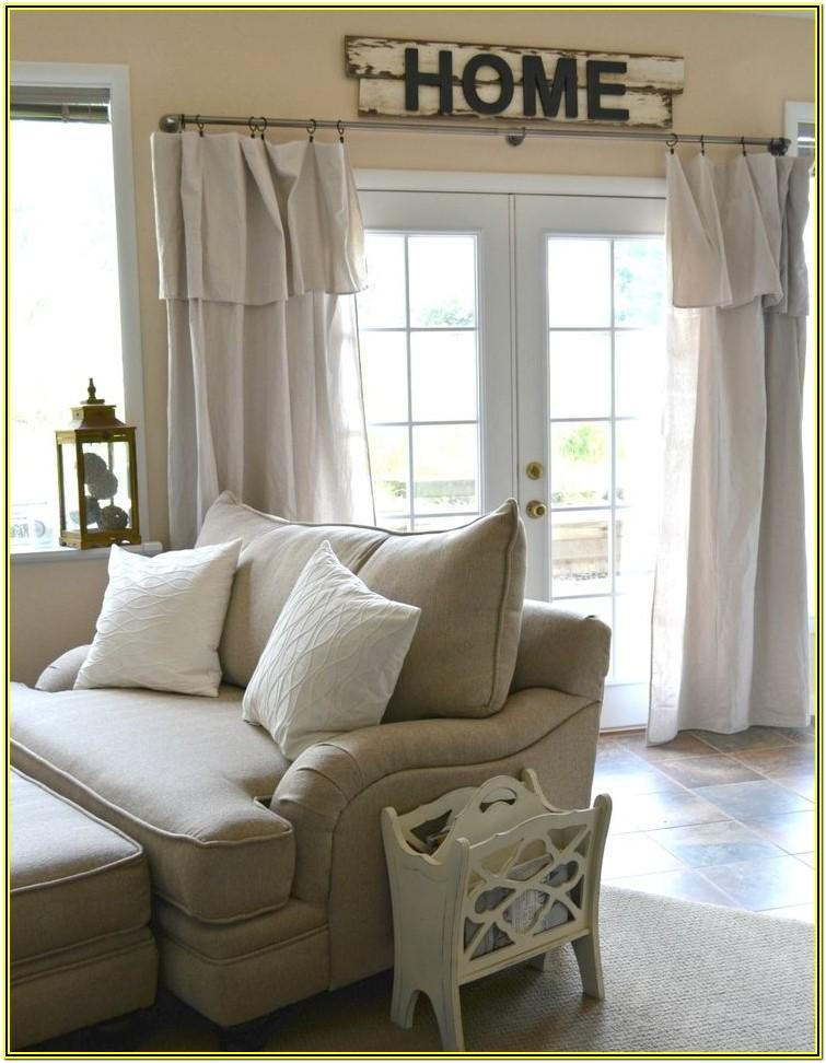 Curtain Rod Ideas For Living Room
