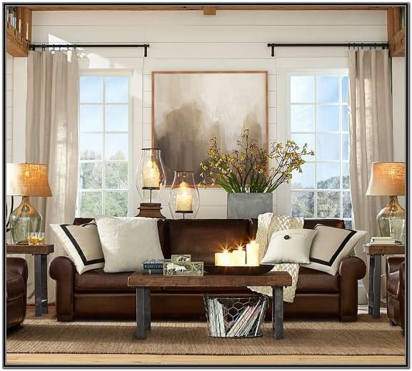 Dark Brown Floor Living Room Ideas