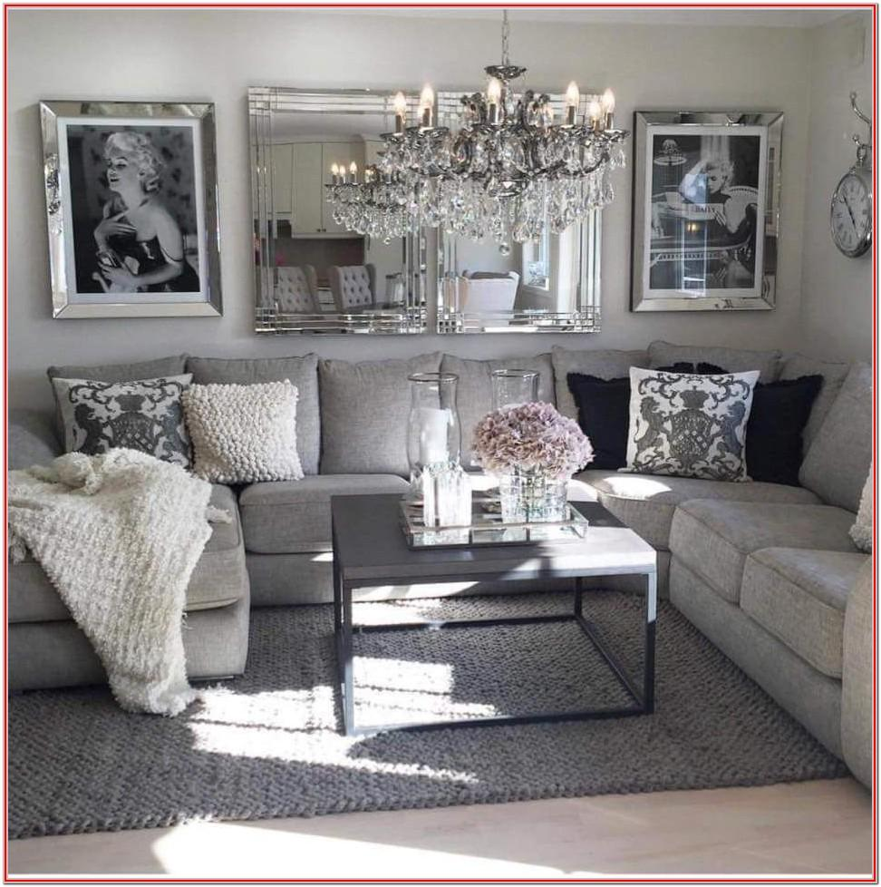 Dark Grey And Pink Living Room Ideas