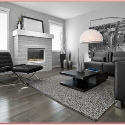 Dark Grey Floor Living Room Ideas