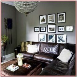 Dark Grey Leather Sofa Living Room Ideas