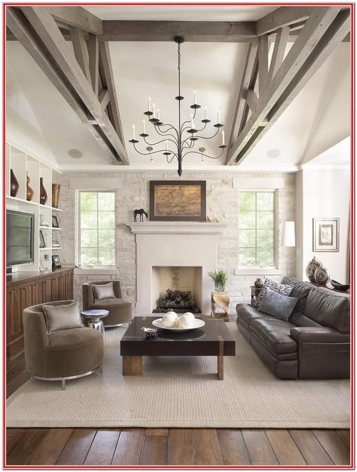 Dark Hardwood Floor Living Room Ideas
