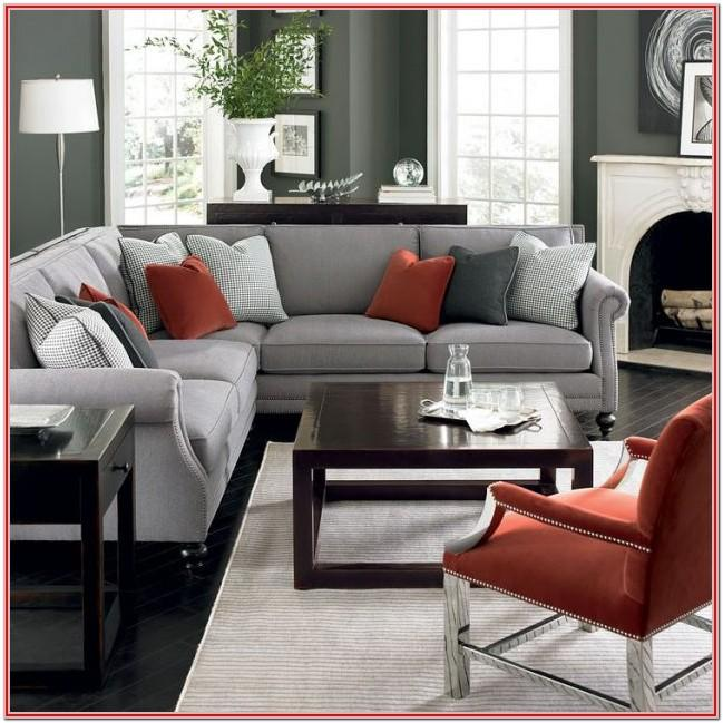 Dark Red And Grey Living Room Ideas