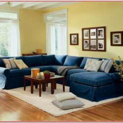 Denim Living Room Ideas