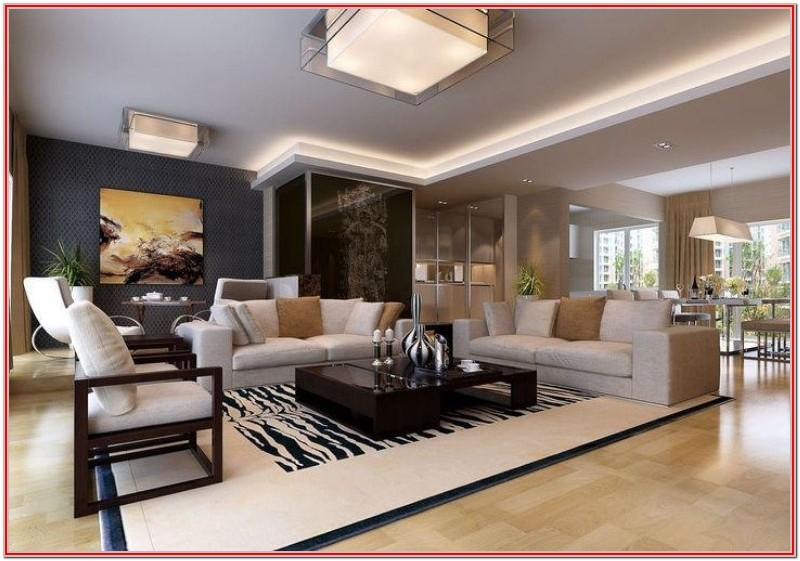 Design Ideas For A Rectangular Living Room