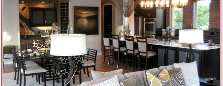 Design Ideas For Open Living And Dining Room