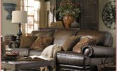 Design Ideas Living Room Brown Leather Couch