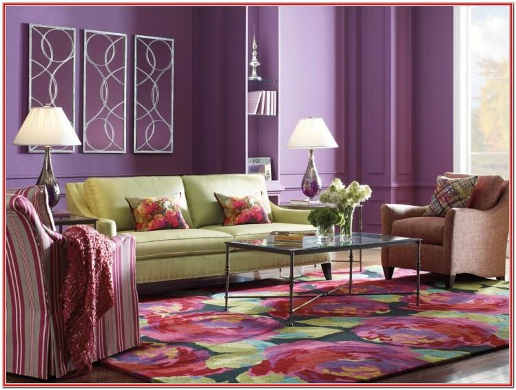 Design Ideas Purple And Blue Living Room