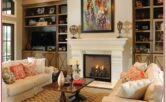 Design Living Room Ideas With Fireplace