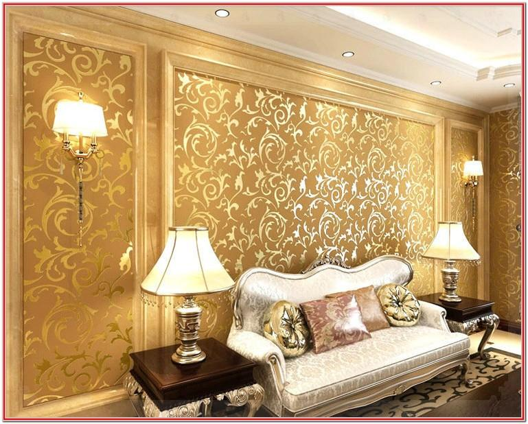 Designer Wallpaper Ideas Living Room