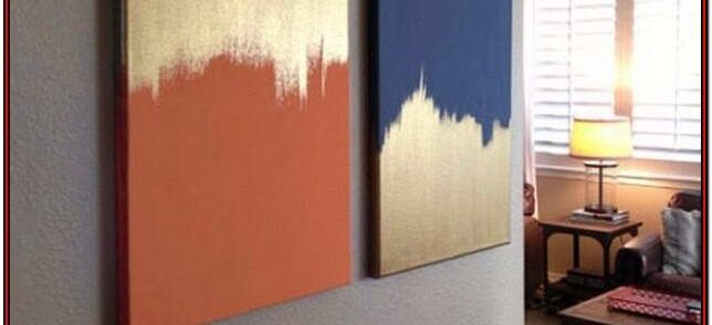 Diy Canvas Painting Ideas For Living Room