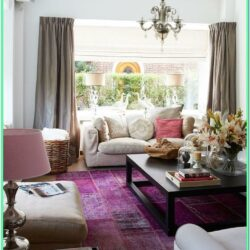 Eggplant Living Room Ideas