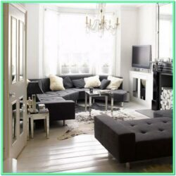 Elegant Black And White Living Room Ideas