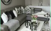 Elegant Grey And Silver Living Room Ideas