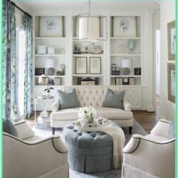 Elegant White And Grey Living Room Ideas
