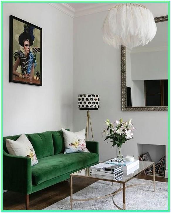 Emerald Green Couch Living Room Ideas