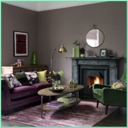 Emerald Green Dark Green Living Room Ideas 1