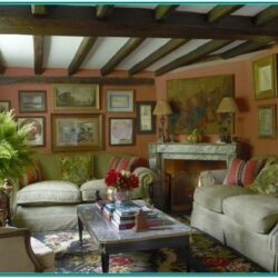English Cottage Living Room Ideas