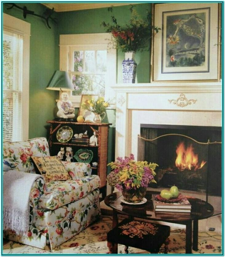 English Country Cottage Living Room Ideas