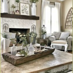 Farm Style Living Room Walls Ideas