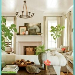 Farmhouse Country Living Room Decor Ideas