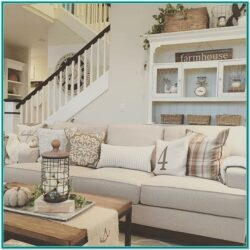 Farmhouse Country Style Living Room Ideas