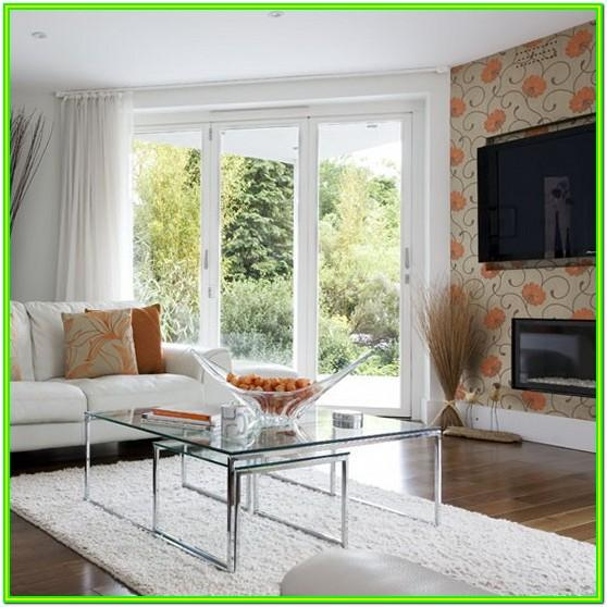 Feature Wallpaper Ideas Living Room