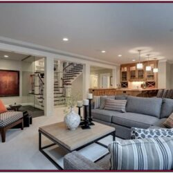 Finished Basement Living Room Ideas