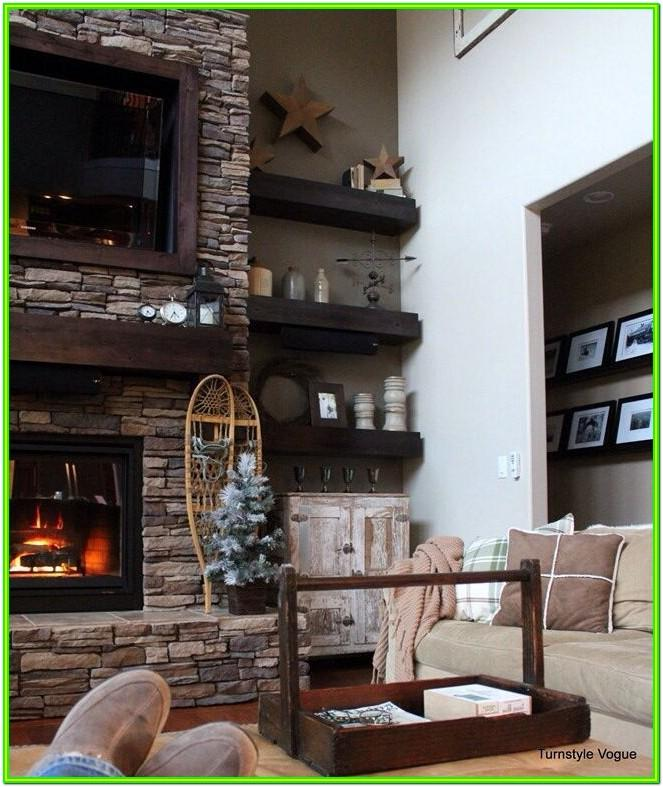 Fireplace Ideas Living Room Stone Book Shelf