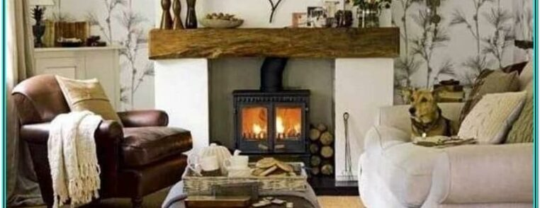 Fireplace Warm And Cozy Living Room Ideas