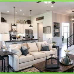 Fixer Upper Living Room With Fireplace Ideas