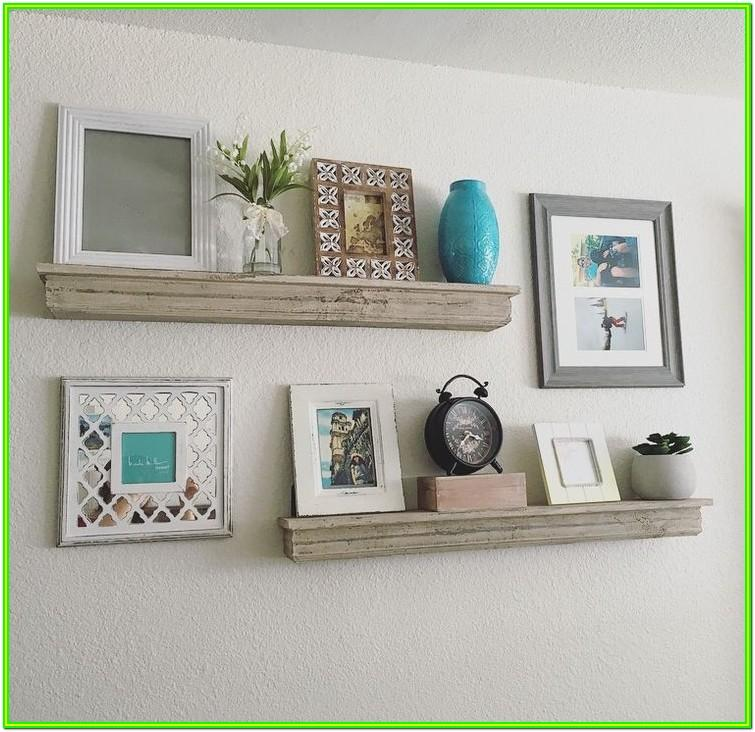Floating Shelf Decorating Ideas Living Room
